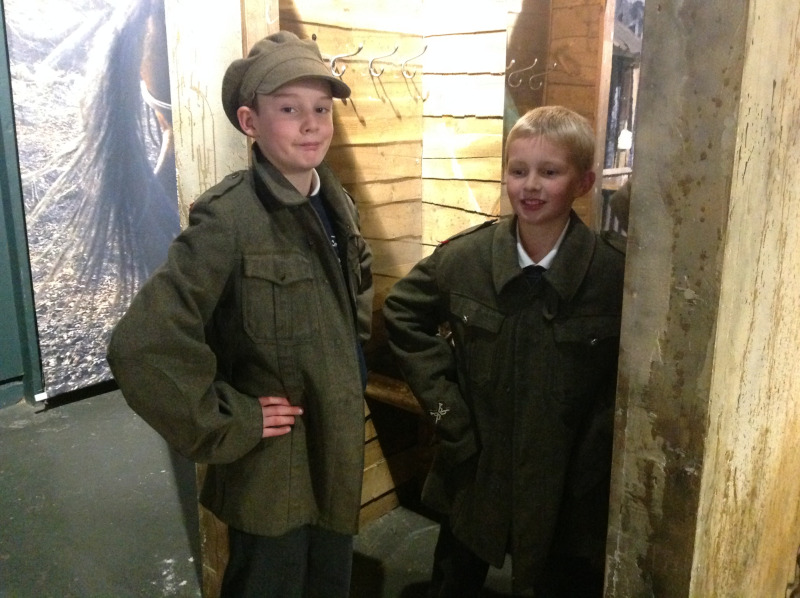 WWI Experience at Bovington Tank Museum