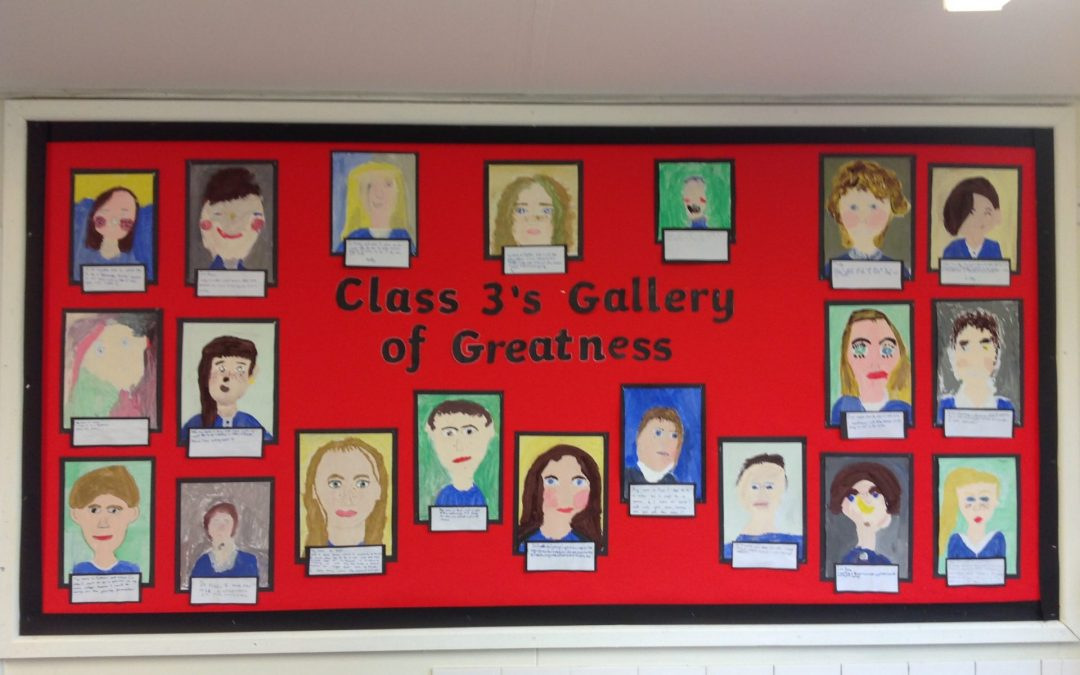 Class 3's Gallery of Greatness